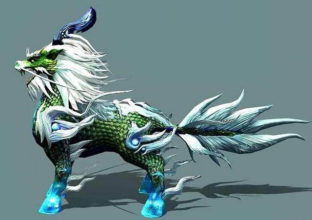神话生物麒麟的现实原型——鬣羚